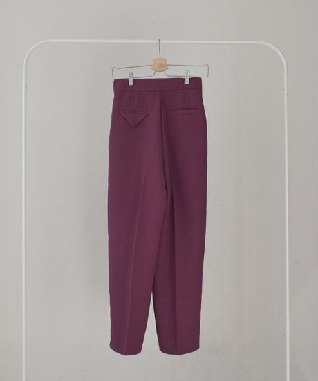 bottoms-02094 WAIST DESIGN TROUSER PANTS
