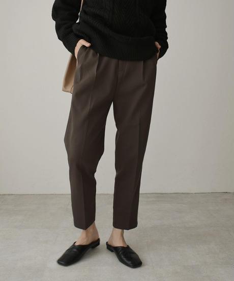 bottoms-02092 TUCK TROUSER PANTS