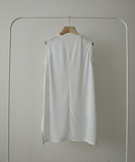 tops-04100 MADE IN JAPAN UV-CUT WATER-ABSORBENT QUICK-DRYING SHEER SLEEVELESS