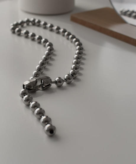 necklace2-02043 WA04 STAINLESS STEEL BALL CHAIN NECKLACE