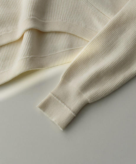 knit-02125 SHORT LENGTH CREW NECK KNIT