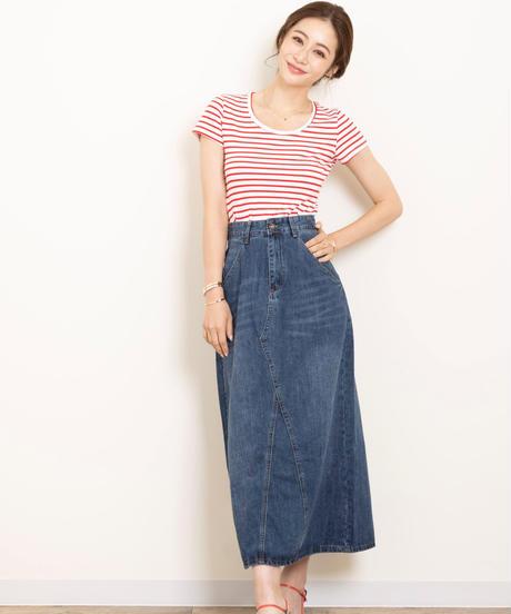 【予約商品】Aラインデニムスカート