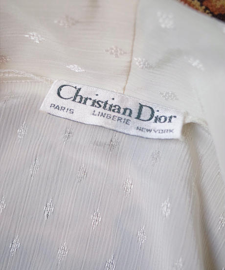 """""""Christian Dior"""" Lingerie Gown"""