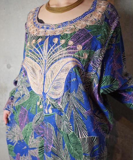 Embroidery African Dress