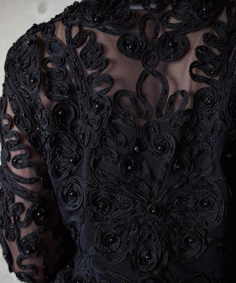 Bijou Embroidery Mesh Shirt