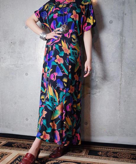 Bijou & Aurora Art Rayon Mermaid Dress