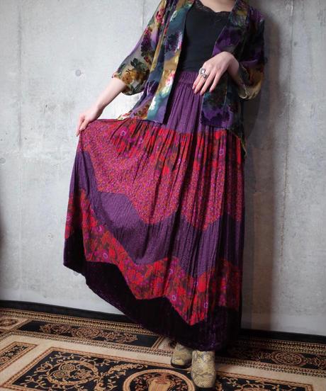 Aurora Flower Sheer Gown