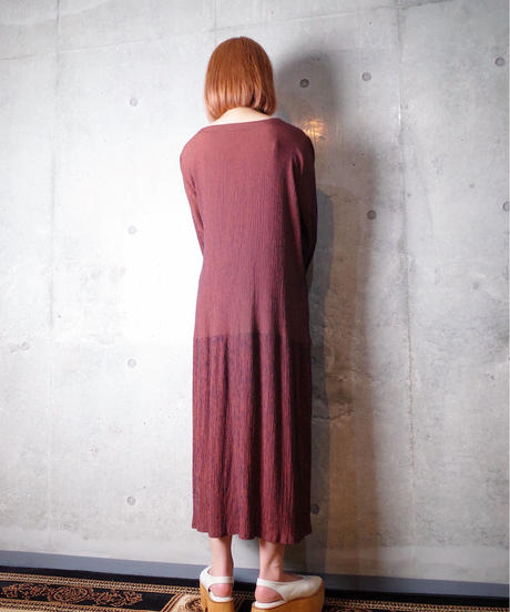Crepe Rayon Drape Dress