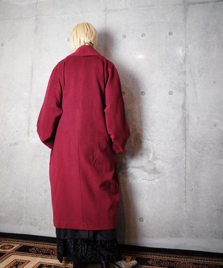 Bordeaux Haori Coat