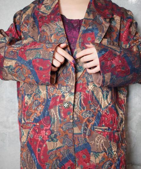 Paisley Double Pattern Jacket