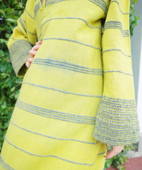 Hand Made in PAKISTAN Hoodie Dress from 1970s vintage