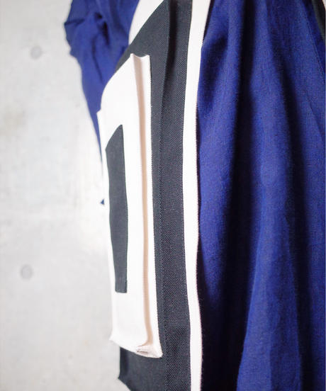 【Original】Block 2tone Wrap Pocket