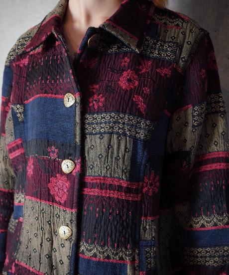 Brock Pattern Gobelin Jacket
