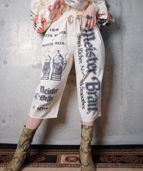 """Vintage """"BEER Sack"""" Pants"""