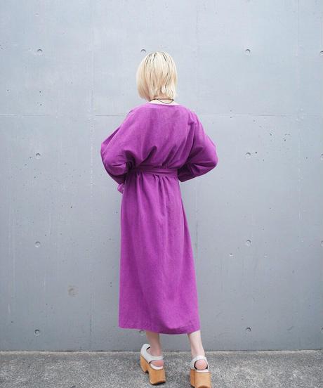 Paint Flower Purple Dress