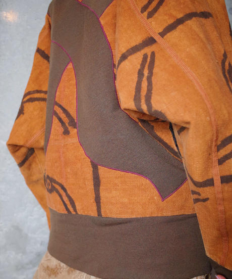 African Switch Volume Blouson