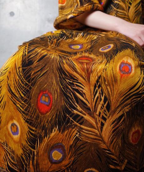 Peacock Dress c.1960-1970
