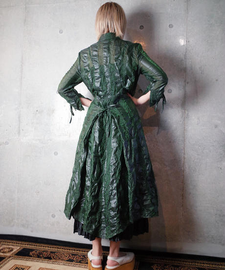 France Made Dress/Gown Special Material & Details c.1980-90