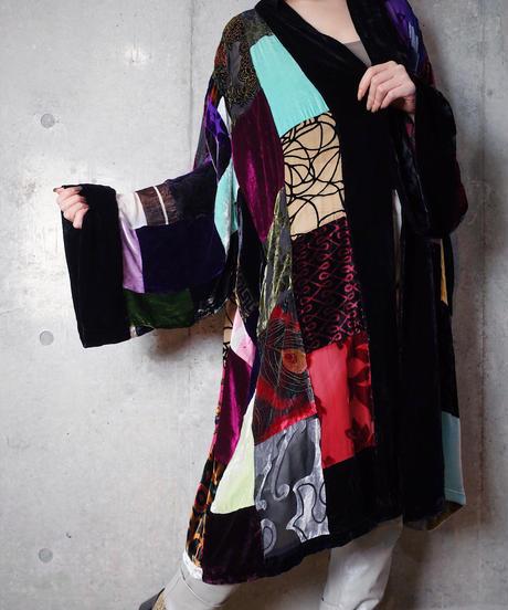Beautiful Textile Patchwork HAORI