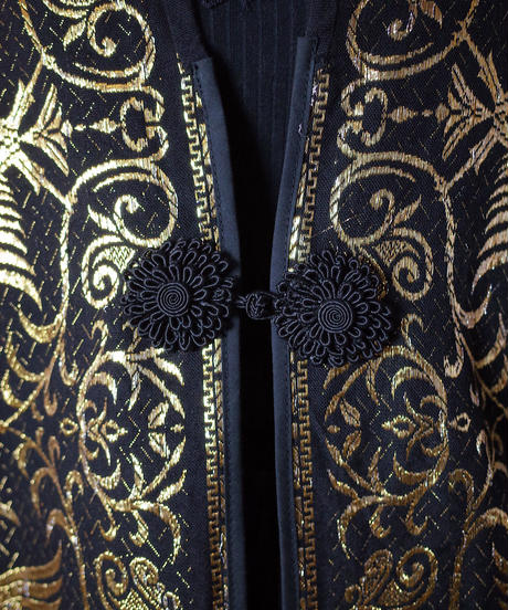 Made in Greece Jacquard Long Vest