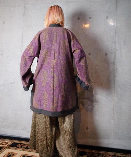 Nepal Made Heavy Cotton Dragon China Jacket