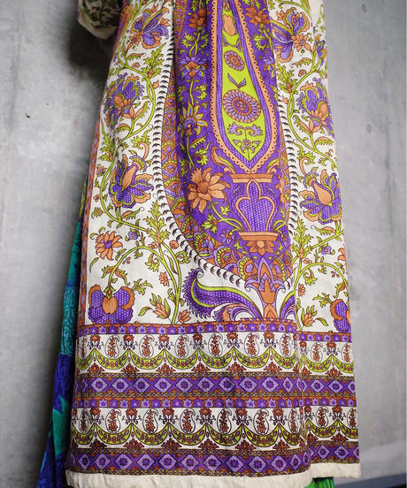 Exotic Embroidery Arabesque Dress