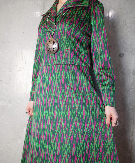 Psychedelic Dress c.1970