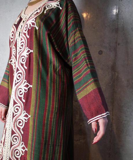 Beautiful Embroidery Kaftan Dress