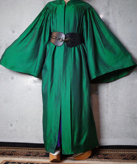 Beautiful Green Gather Academic Gown/Dress