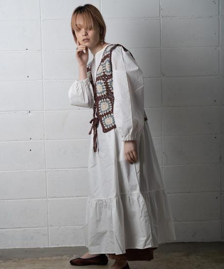 dareka original knit vest bwp