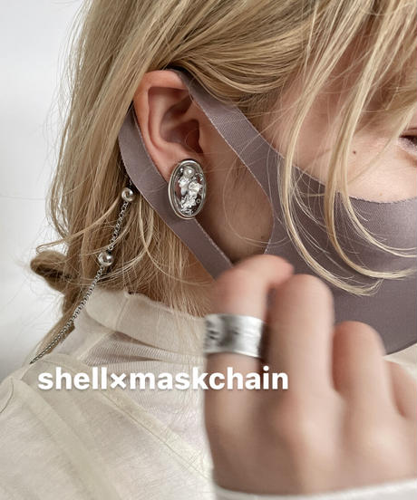 shell×mask chain(2点セット)