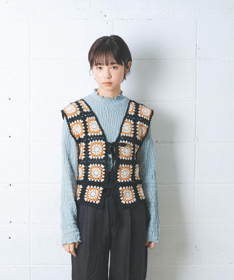 dareka original knit vest bwo
