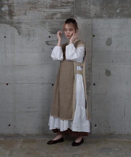 long knit vest  new color