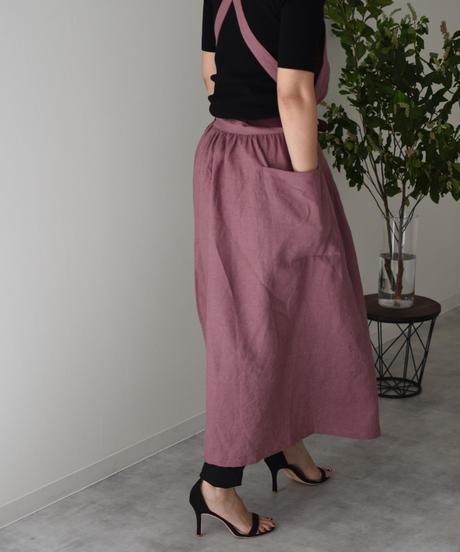 エプロンドレス Dressy for Ladeis  Mauve pink