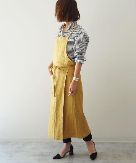 スリットエプロン Mustard