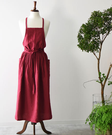 エプロンドレス Casual for Ladeis  RED