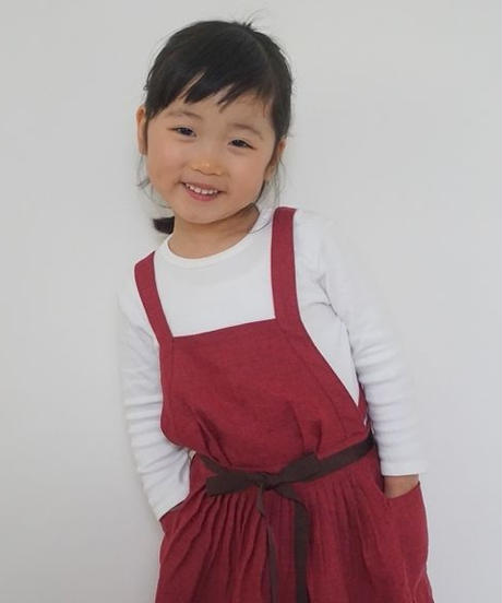 エプロンドレス  Dressy for Kids