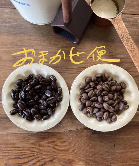 エスキーナお任せ便 焼き具合の違う珈琲豆150g×2種類set