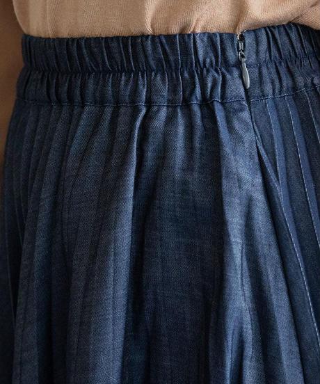 デニムプリーツスカート|BEATRICE|E24406
