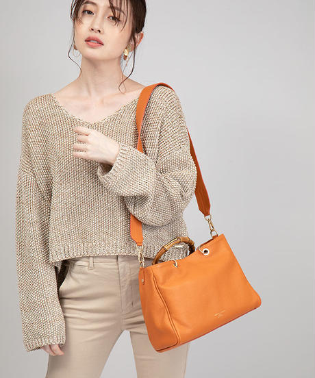 【『美ST』2020年5月号掲載】B96112|#MAGAZINE #LOOK|Knit[BRAHMIN]