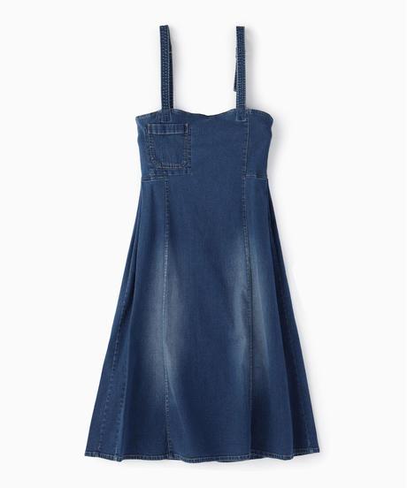 サロペットロングスカート|Mylanka|M65502