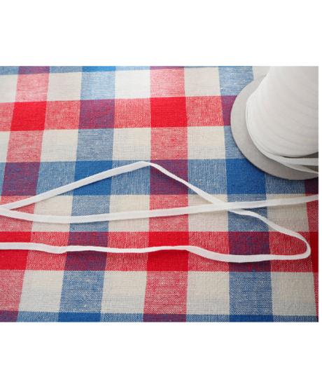マスクゴム 平タイプWhite 幅5㎜ 3mパック ※消費税・送料込み
