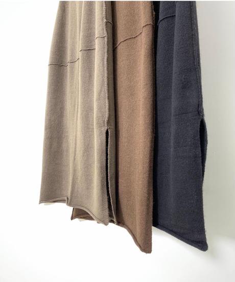 Side oneslit Knit SK (3color)