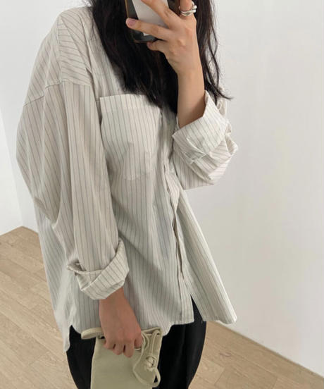 Stripe shirt (3color)
