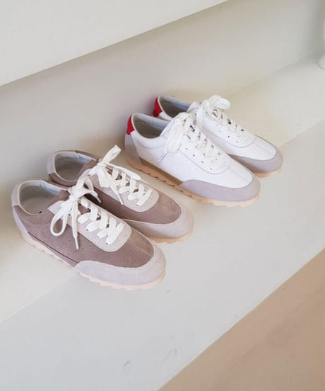 leather Sneakers (2color)