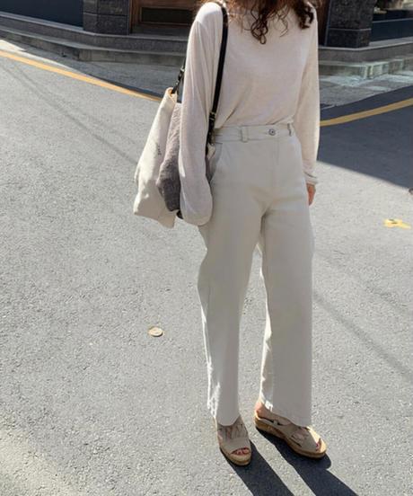 Span cotton Pants(2color)