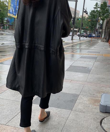 【original】 HigtWaist Black SlimPants