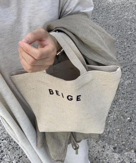"""""""BEIGE"""" logo  BAG (2color)"""