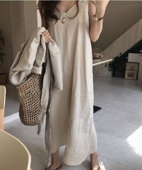 linen Sleeve One piece (5color)