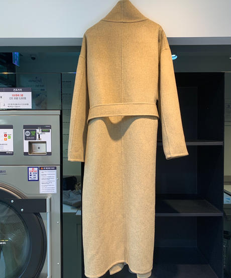 【数量限定】high neck  handmade coat